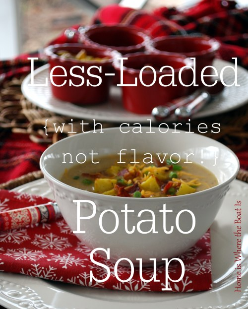 Less-Loaded Potato Soup