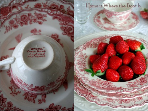 Bristol & Camellias table