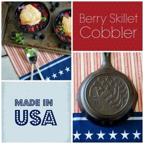 Berry Skillet Cobbler-1