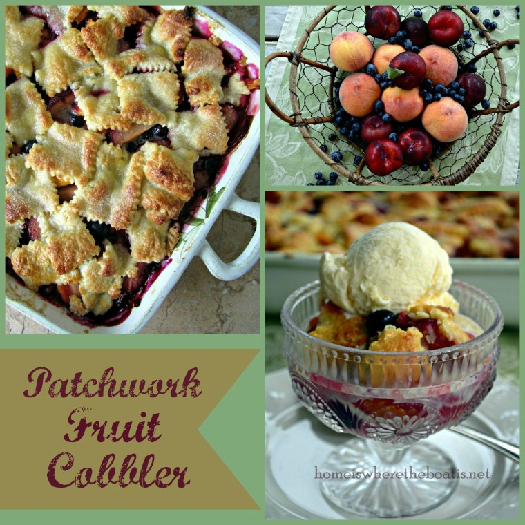 Patchwork Fruit Cobbler-001