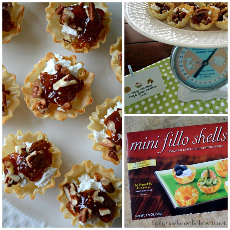 Easy Delivery Fig & Goat Cheese Cups