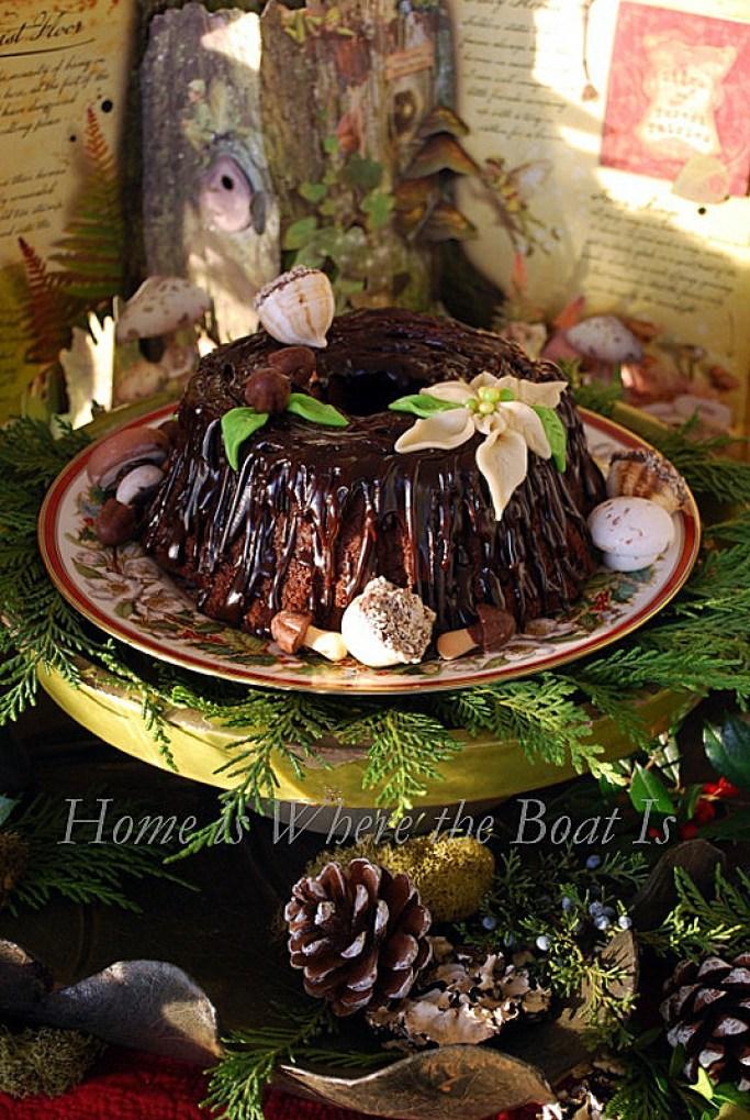 Stump de Noël Fairy Cake