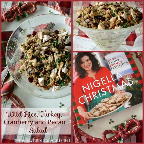 Wild Rice, Turkey, Cranberry and Pecan Salad