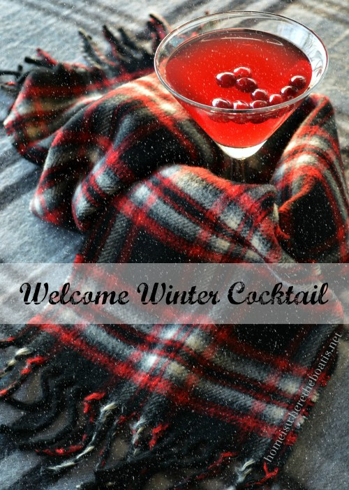 Welcome Winter Cocktail