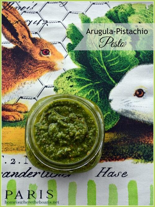 Arugula-Pistachio Pesto
