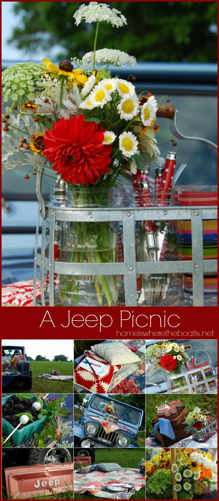 A Jeep Picnic