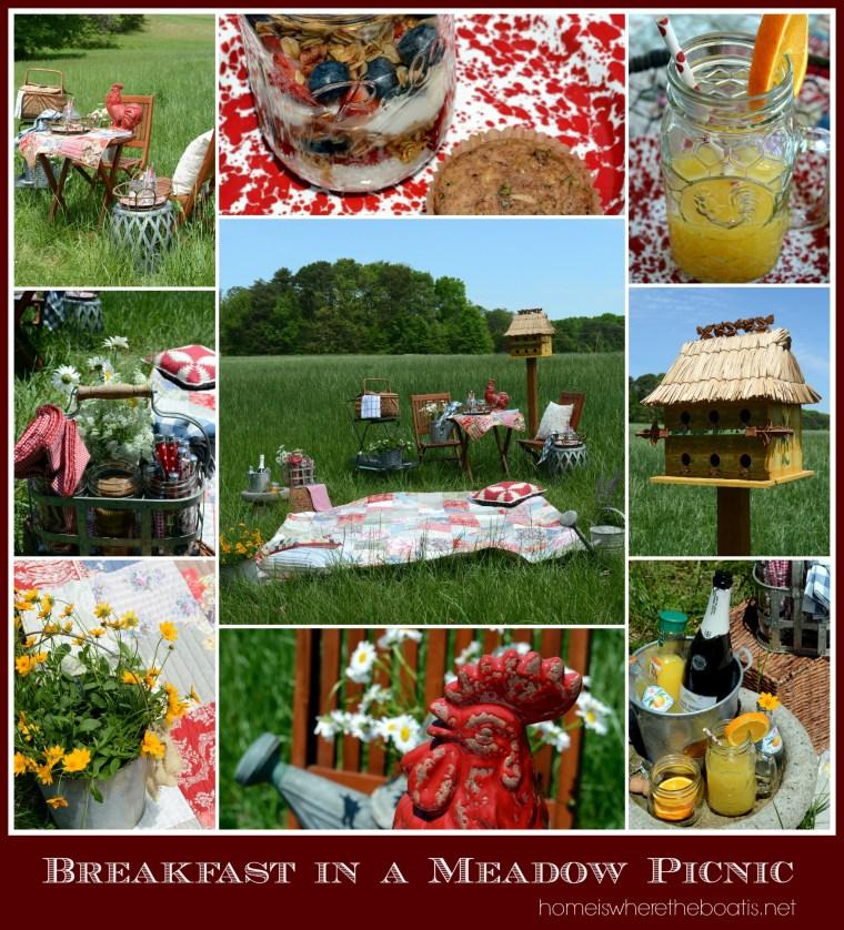 Breakfast in a Meadow Picnic