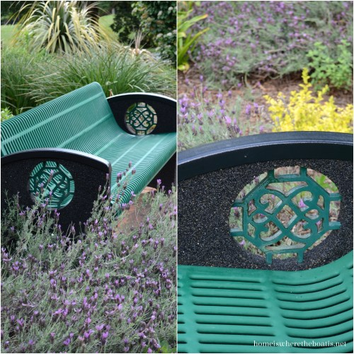 Daniel Stowe Botanical Gardens, Bench
