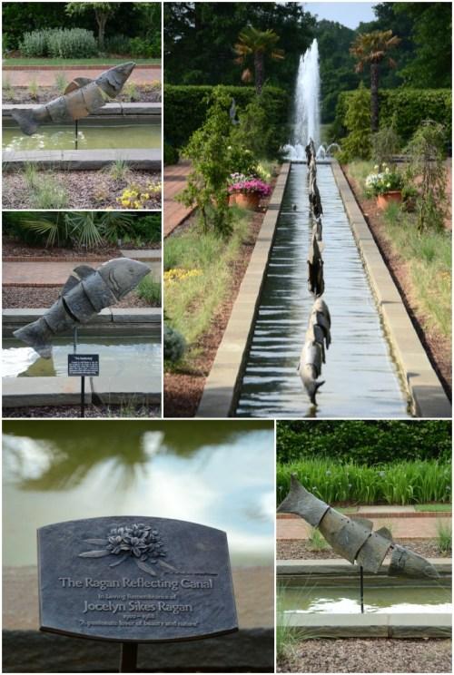 The Ragan Reflecting Canal Daniel Stowe Botanical Gardens