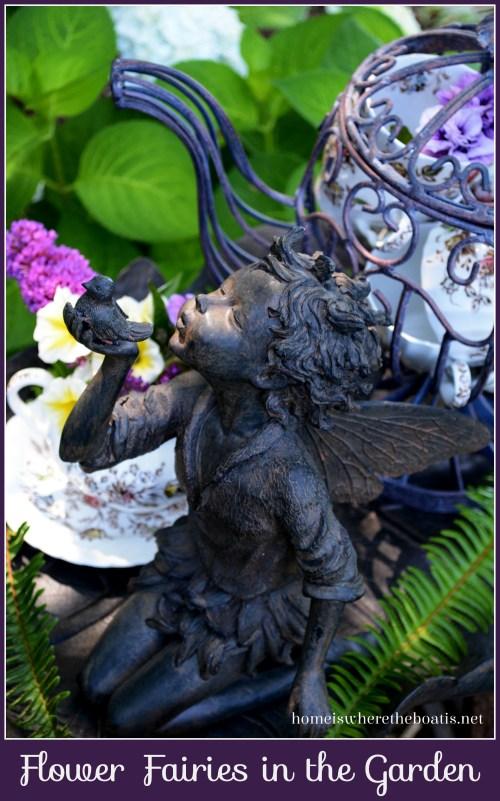 Flower Fairies in the Garden