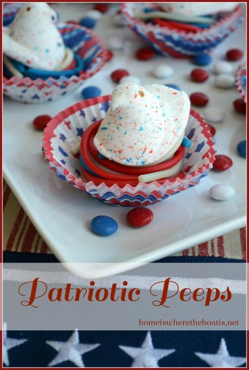 Patriotic Peeps