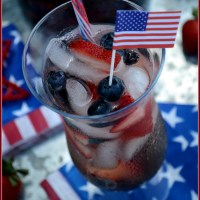 Fourth of July Sipping: Red, White and Blue Sangria!