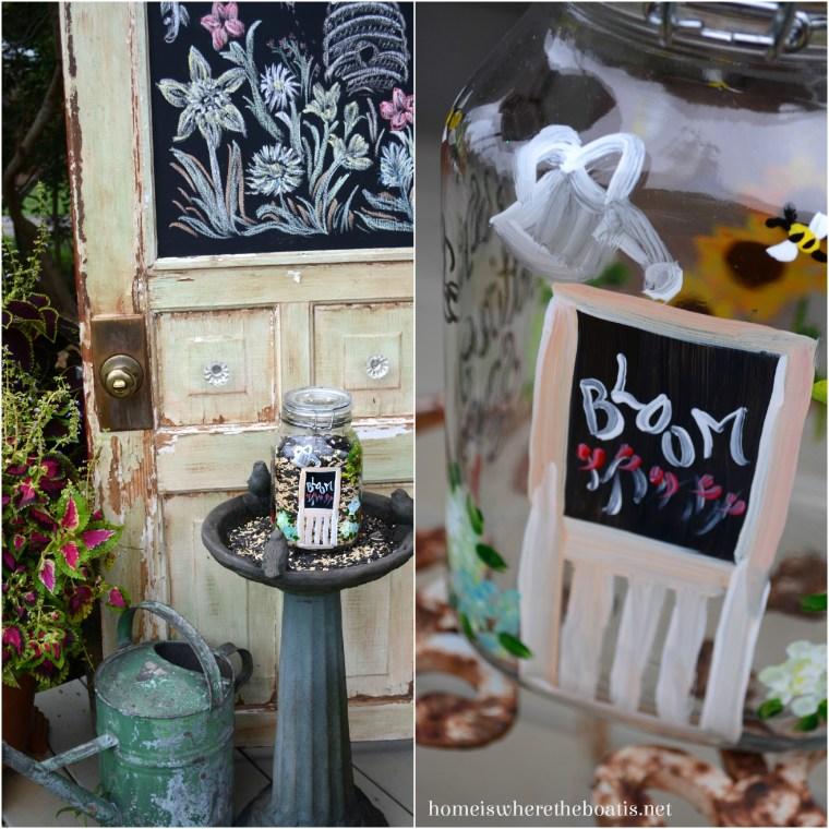 JMdesigns Gallery Potting Shed Jar