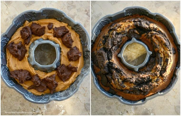 Pumpkin Chocolate Harvest Cake