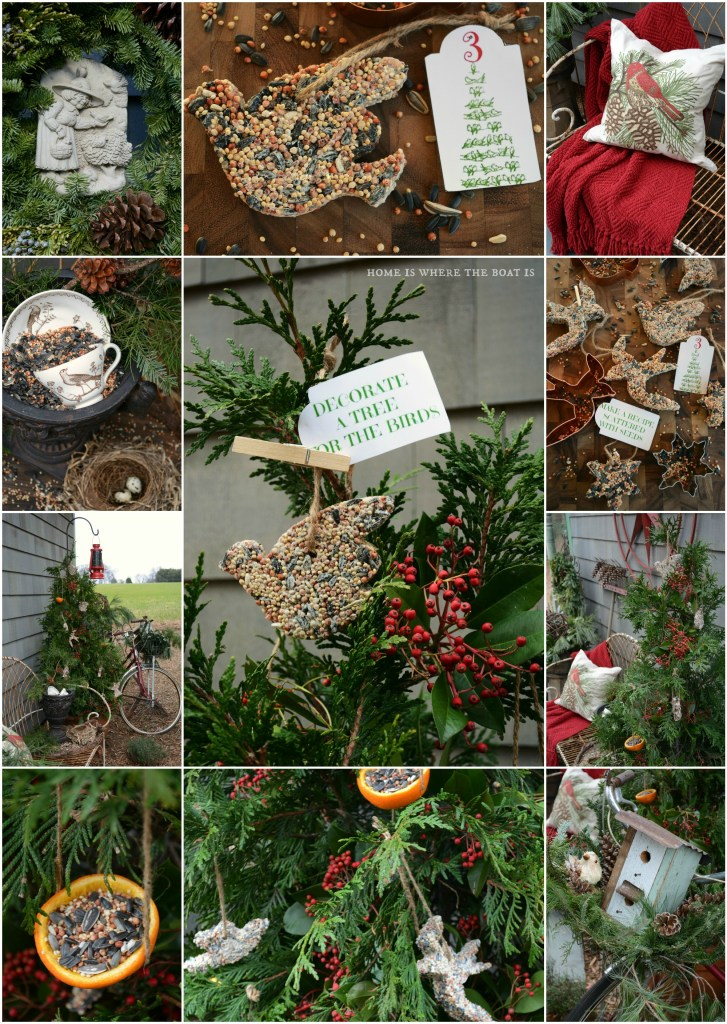 DIY Bird Seed Treats Advent Activity