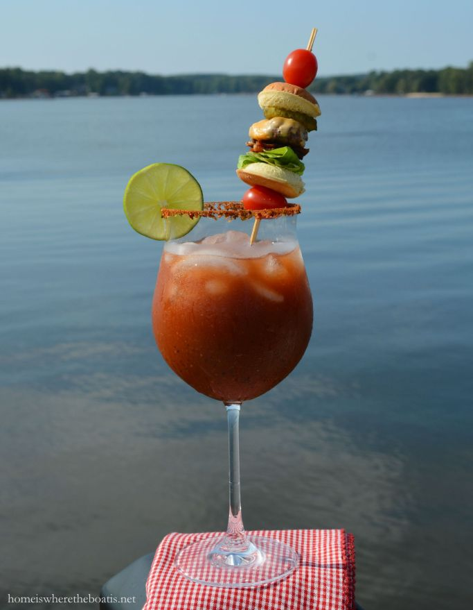 Bloody Mary with Cheeseburger skewer   homeiswheretheboatis.net