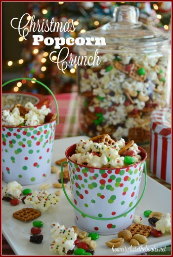 Christmas Popcorn Crunch
