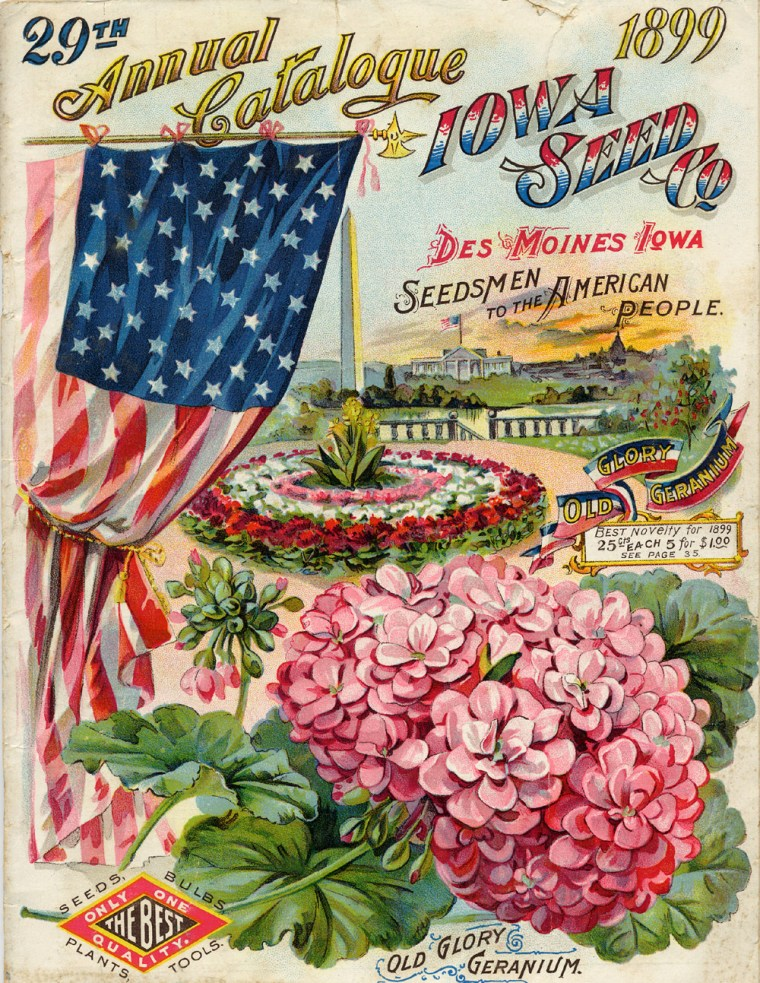 29th Annual Catalogue Iowa Seed Company