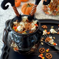 Easy Witch's Potion Popcorn: No Cauldron Required!