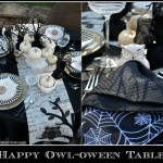 Happy Owl-oween Table! | homeiswheretheboatis.net