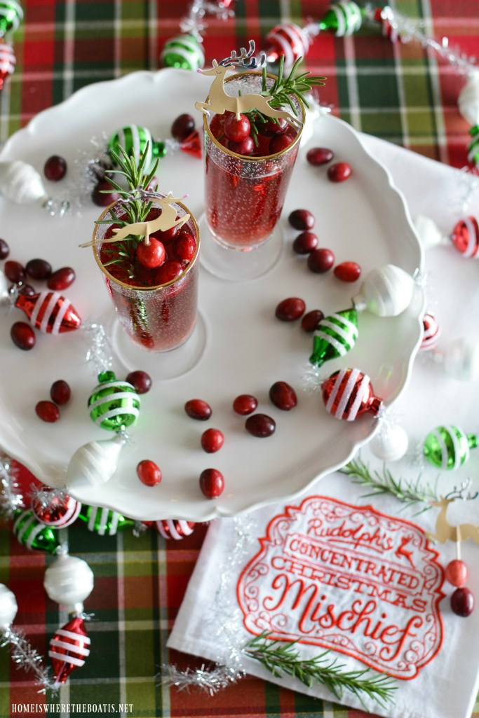 Rudolph's Concentrated Christmas Mischief Cocktail | ©homeiswheretheboatis.net #cocktail #Christmas
