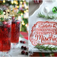 Christmas Cheer: Rudolph's Concentrated Christmas Mischief Cocktail
