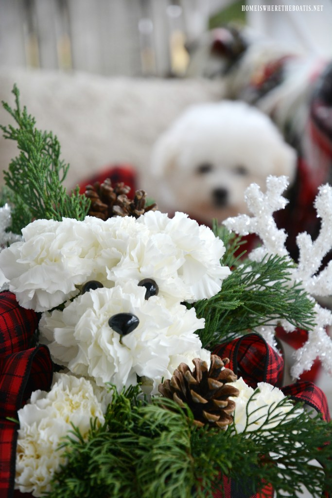 Monday Morning Blooms Lola And Gracie Inspired Puppy Bouquet Home Is Where The Boat Is