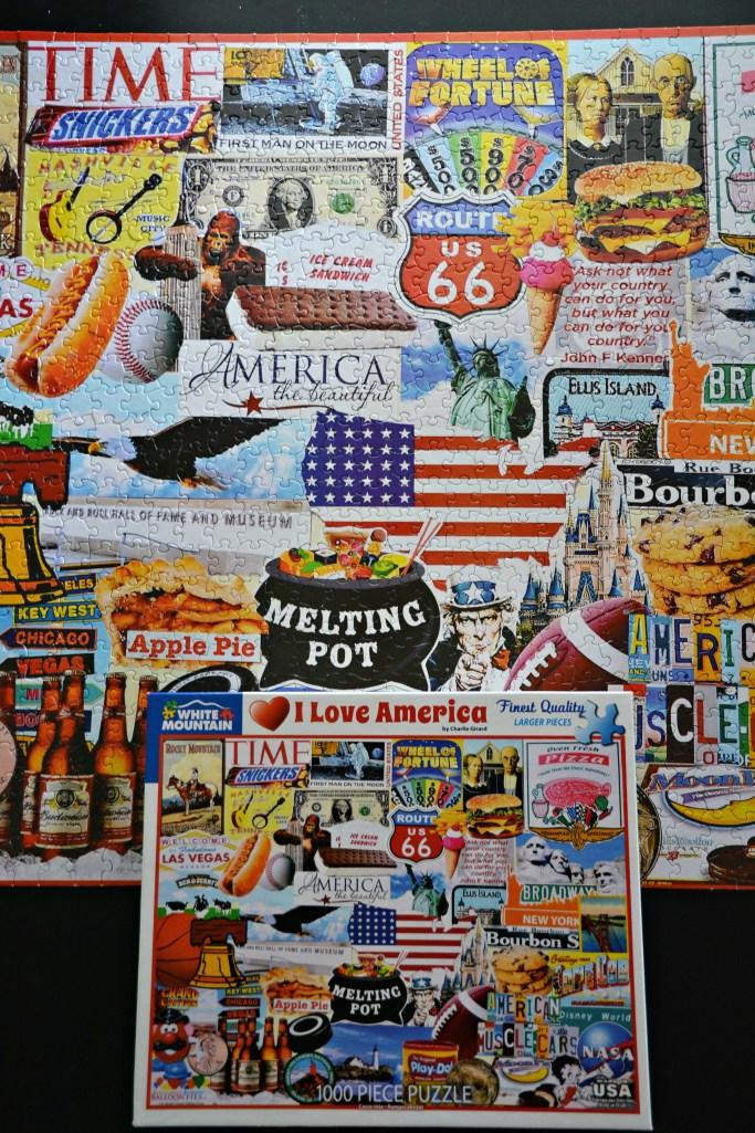 I Love America puzzle | ©homeiswheretheboatis.net