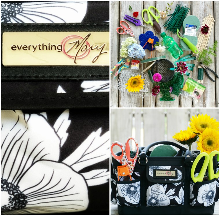 Everything Mary: Create a Floral Arranging Kit + Giveaway | ©homeiswheretheboatis.net #flowers #giveaway