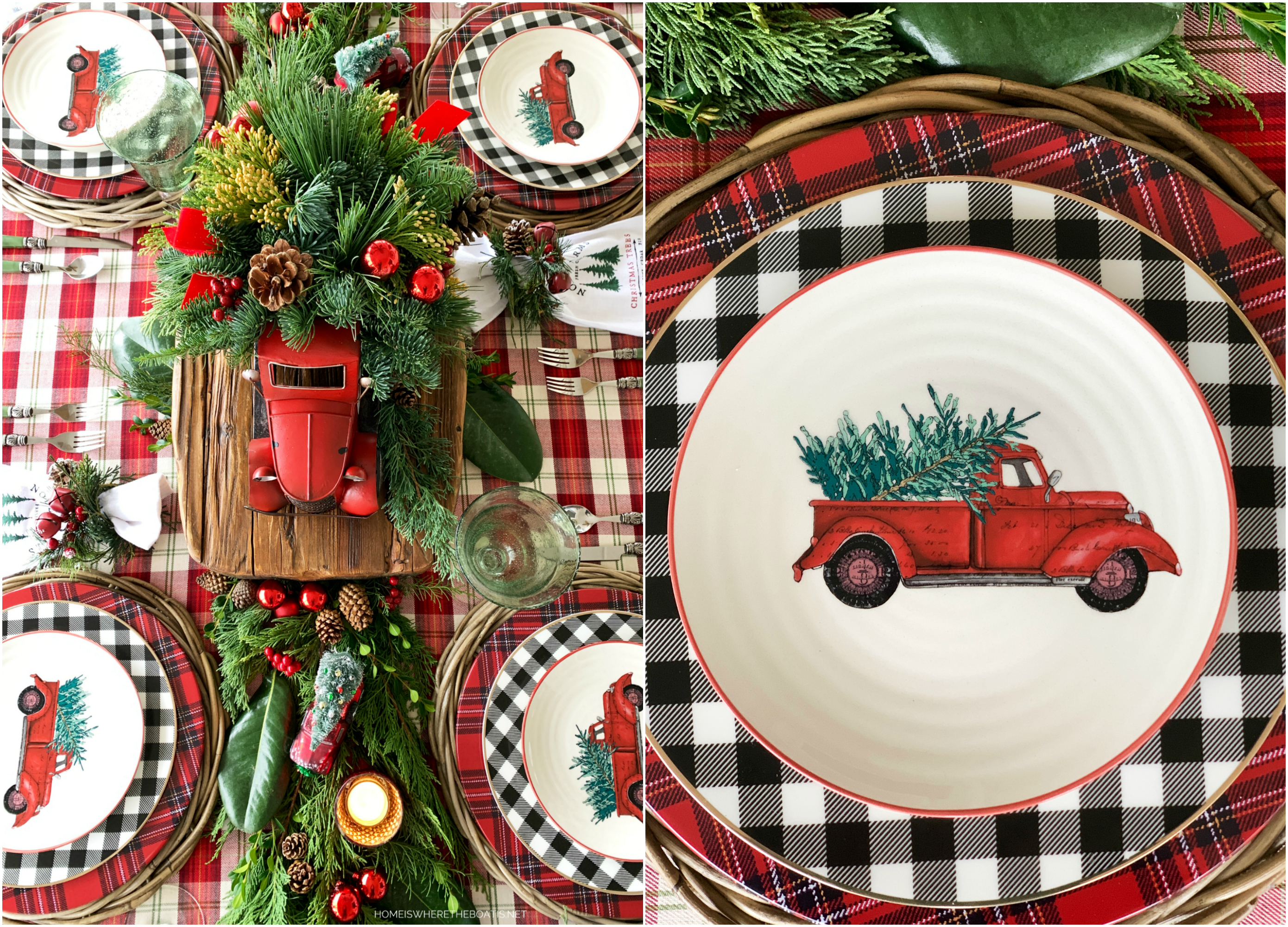Noel Farms Christmas Tablescape Home Is Where The Boat Is