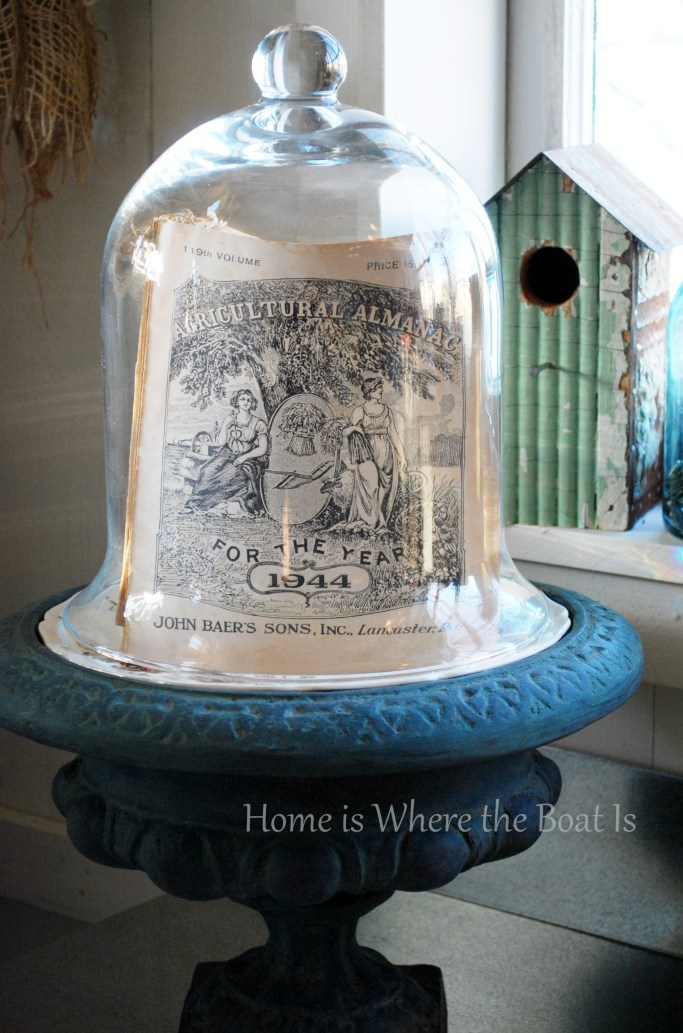 1944 almanac under cloche | ©homeiswheretheboatis.net