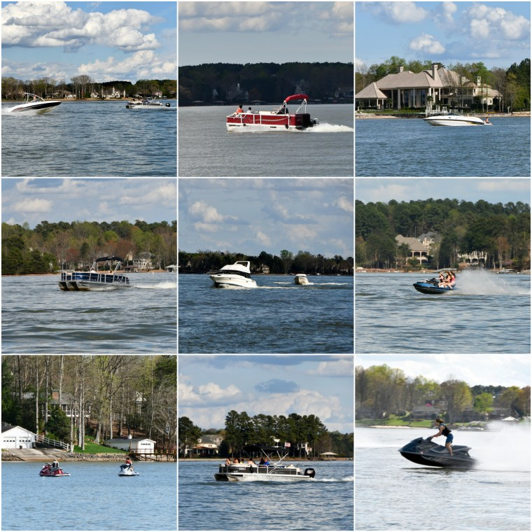 Boats March Lake Norman | ©homeiswheretheboatis.net #LKN