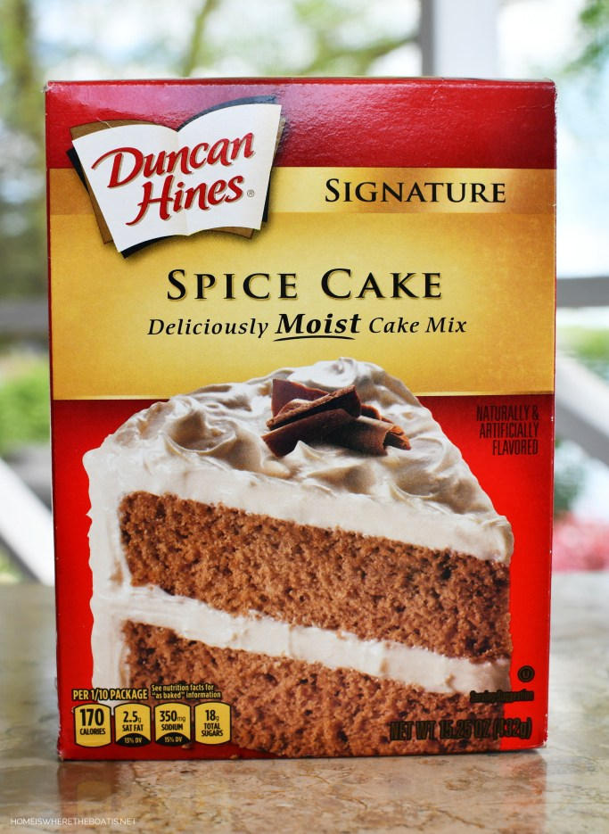 Doctoring the Box: Carrot Cake from Spice Cake Mix | ©homeiswheretheboatis.net