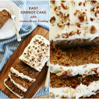 Doctoring the Box: Carrot Cake from Spice Cake Mix
