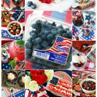 16+ Patriotic Recipes to Celebrate the Red, White and Blueberry!