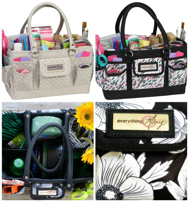 Everything Mary Craft Bag Organizer Tote + Giveaway | ©homeiswheretheboatis.net