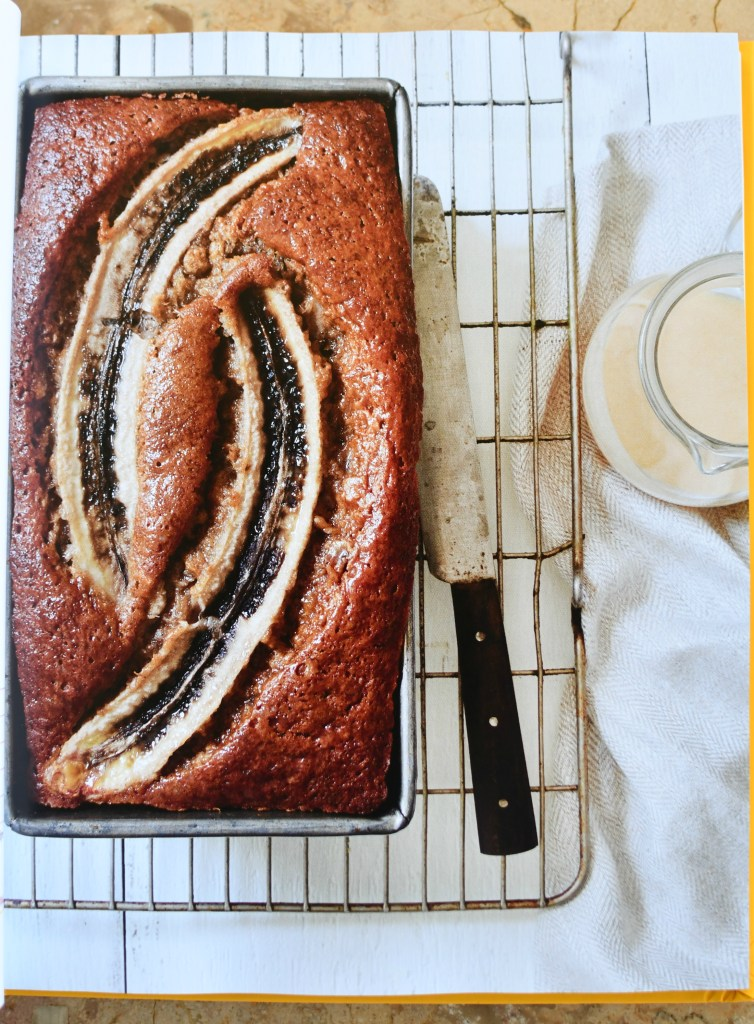 Bananas Foster Bread with Brown Butter-Rum Glaze, The Duke's Mayonnaise Cookbook + Giveaway