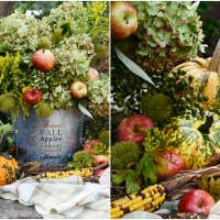 Create a Foraged Autumn Harvest Arrangement