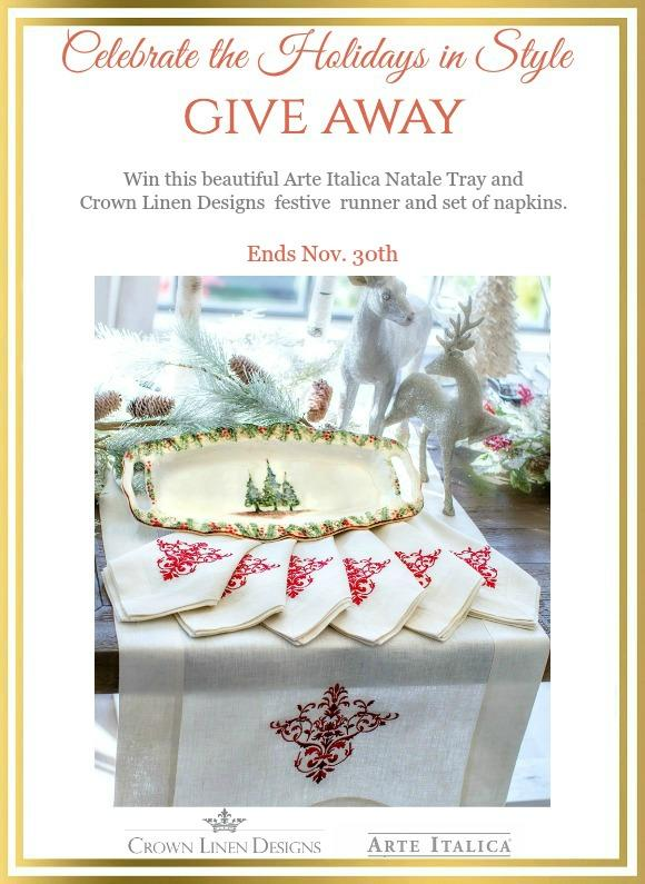 Celebrate the Holidays in Style Giveaway | ©homeiswheretheboatis.net #christmas #tablescapes