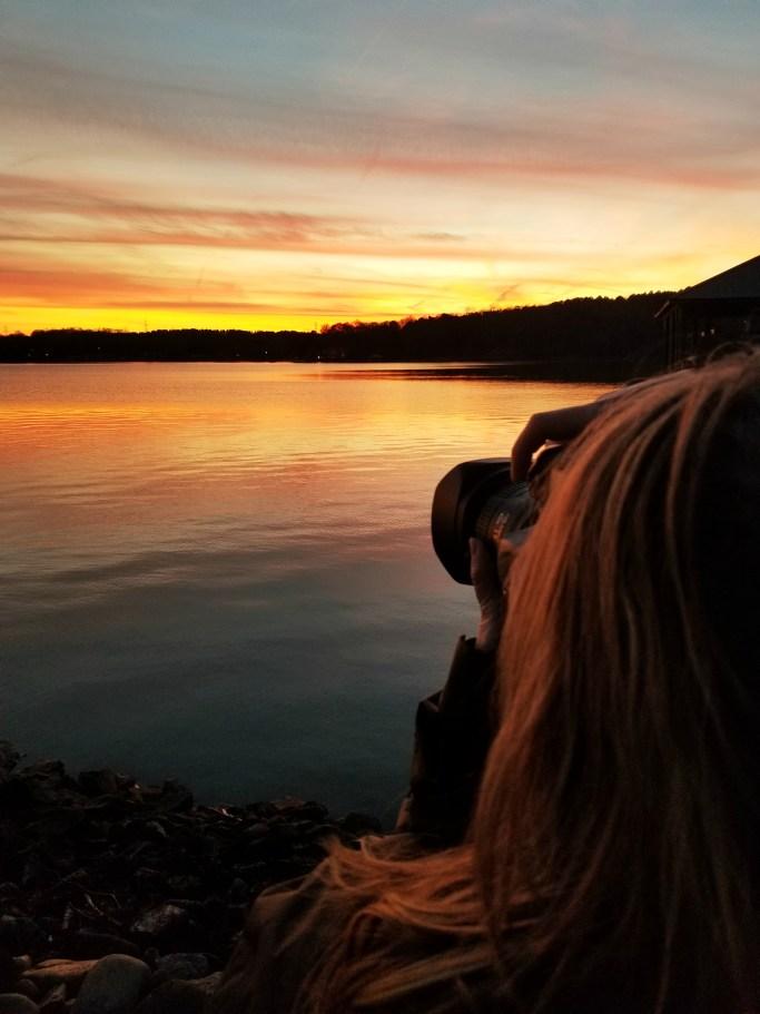 Sunset Lake Norman | ©homeiswheretheboatis.net #sunset #lake #LKN