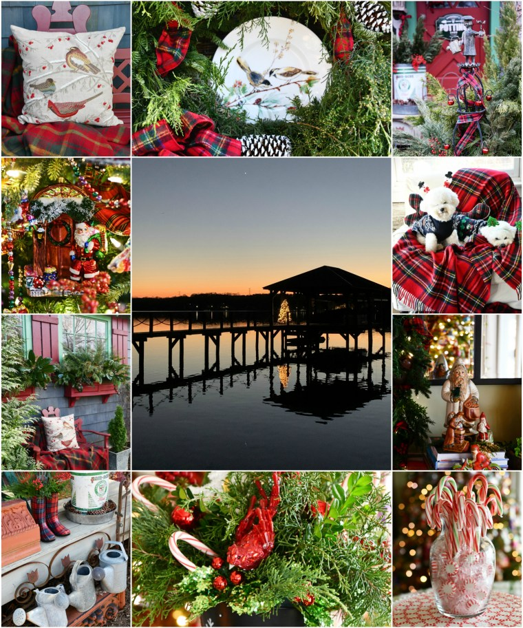 Merry Christmas and December Wrap Up | ©homeiswheretheboatis.net #christmas #dogs #tablescapes #ornaments #radko #tree #pottingshed