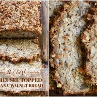 The Best Streusel-Topped (and Healthier!) Banana Walnut Bread