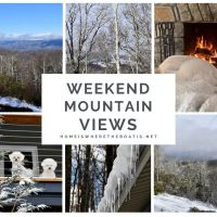 Weekend Mountain Views and Snow Days