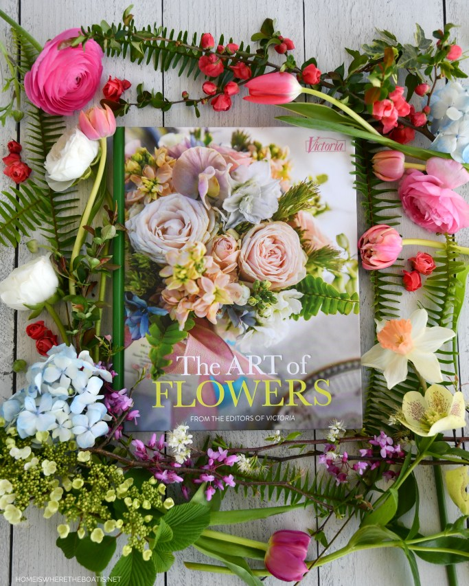 Victoria: The Art of Flowers, the latest hardcover book from the editors of Victoria magazine | ©homeiswheretheboatis.net