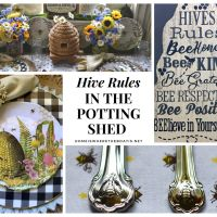 Hive Rules in the Potting Shed + World Bee Day