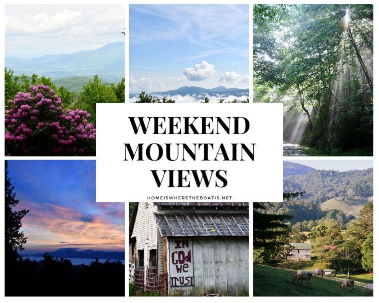 Weekend Mountain Views in North Carolina | ©homeiswheretheboatis.net