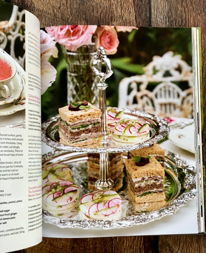 Victoria The Art of Tea Recipes & Rituals + Giveaway   ©homeiswheretheboatis.net #teaparty #book #giveaway
