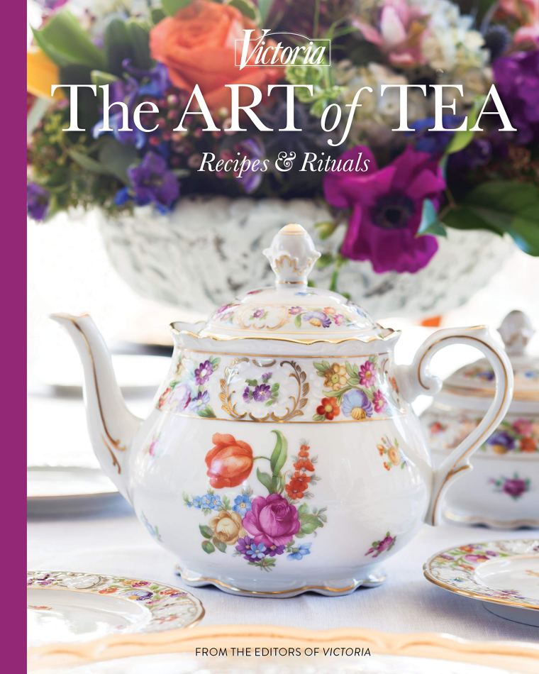 The Art of Tea: Recipes and Rituals (Victoria)   ©homeiswheretheboatis.net #teaparty #book #giveaway