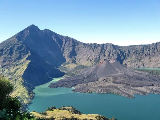 """Crater lake """"Segara Anak"""", Mount Rinjani, Lombok"""