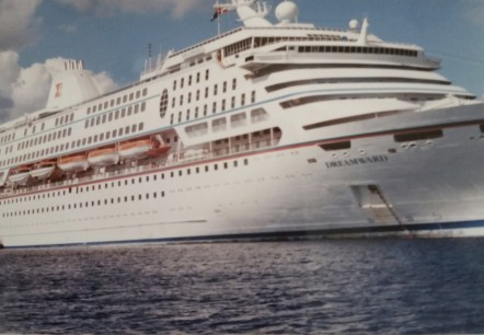 One of the six cruise ships that Nicola made her homes for five years of her life.